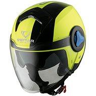 VEMAR Breeze Radar (žlutá fluo) - Helma na motorku