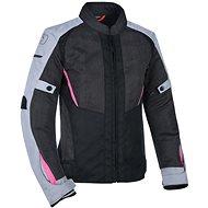 OXFORD IOTA 1.0 AIR, dámská (černá/šedá/růžová) - Bunda na motorku