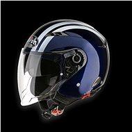 AIROH CITY ONE FLASH COF13 - jet modrá helma  - Helma na motorku