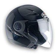 AIROH J56 COLOR J5656 - Jet Helmet, Black - Motorbike Helmet