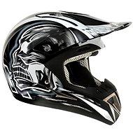 AIROH RUNNER XFACTOR RXF17 - off-road černobílá helma  - Helma na motorku
