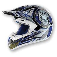 AIROH RUNNER X-MAN RXM18 - off-road modrá helma  - Helma na motorku