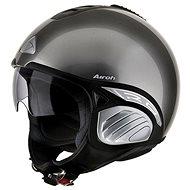 AIROH TROY TO29 - jet titanium helma  - Helma na motorku