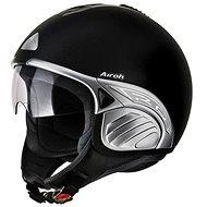 AIROH TROY TO11 - jet černá helma  - Helma na motorku