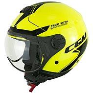 CGM Florence Tech - žlutá  - Helma na motorku