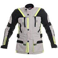 Cappa Racing MELBOURNE textilní šedá/fluo/černá - Bunda na motorku