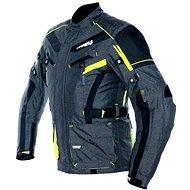 Cappa Racing CHARADE textilní šedá/fluo/černá - Bunda na motorku