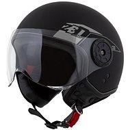 ZED přilba C30,  (černá matná/šedá) - Helma na skútr
