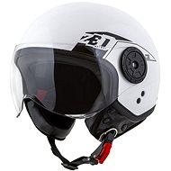 ZED Helmet C30, (White/Black) - Scooter Helmet