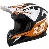 ZED Helmet X1.9, (Orange/Black/White) - Motorbike Helmet