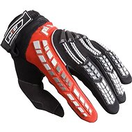 PIONEER pilot, black / red - Motorcycle Gloves