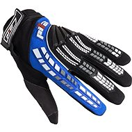 PIONEER pilot, black / blue - Motorcycle Gloves