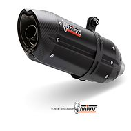 Mivv Suono Black Stainless Steel for Aprilia Shiver 750 (2008 > 2016) - Exhaust Tail Pipe
