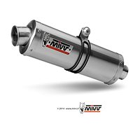 Mivv Oval Stainless Steel pro Honda Hornet 900 (2002 > 2006)