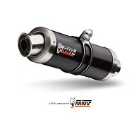 Mivv GP Black Stainless Steel pro Kawasaki Z 1000 (2014 >) - Koncovka výfuku