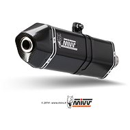 Mivv Speed Edge Black Stainless Steel pro Moto Guzzi Stelvio (2008 > 2016) - Koncovka výfuku