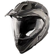 KAPPA KV30 Enduro Flash (šedá) - Helma na motorku