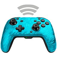 PDP Faceoff Wireless Controller - modrá kamufláž - Nintendo Switch