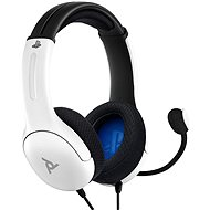 PDP LVL40 Wired Headset - bílý - PS4/PS5
