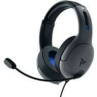 PDP LVL50 Wired Headset - Grey - PS4 - Gaming Headset