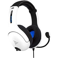 PDP LVL50 Wired Headset - bílý - PS4/PS5
