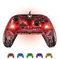 PDP Afterglow Wired Controller - průhledný svítící - Xbox One - Gamepad