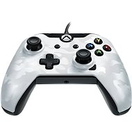 PDP Deluxe Wired Controller - Xbox One - White Camo - Gamepad