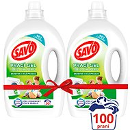 SAVO Colored and white laundry 2 × 2.5 l (100 washes)
