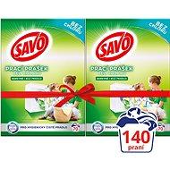 SAVO barevné i bílé 2× 5 kg (140 praní) - Prací prášek