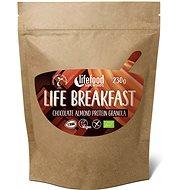 Lifefood Life Breakfast Bio Raw  Granola čokoládová s mandlemi - Granola