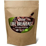 Lifefood Life Breakfast Organic Raw Cocoa with Quinoa - Protein Puree