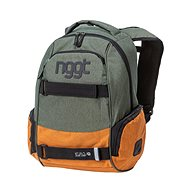 Nugget Bradley 3 Backpack Heather Military/Heather Camel