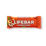 Lifefood Lifebar Plus s guaranou BIO – 15 ks - Raw tyčinka