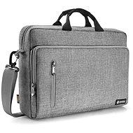 tomtoc Shoulder Bag - 16'' MacBook Pro 2019, šedá - Brašna na notebook