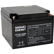GOOWEI ENERGY OTL26-12, baterie 12V, 26Ah, DEEP CYCLE
