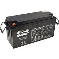 GOOWEI ENERGY OTL150-12, baterie 12V, 150Ah, DEEP CYCLE - Trakční baterie