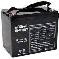 GOOWEI ENERGY OTL75-12, baterie 12V, 75Ah, DEEP CYCLE - Trakční baterie