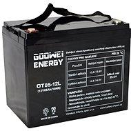 GOOWEI ENERGY OTL85-12, baterie 12V, 85Ah, DEEP CYCLE - Trakční baterie