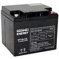 GOOWEI ENERGY OTL45-12, baterie 12V, 45Ah, DEEP CYCLE - Trakční baterie