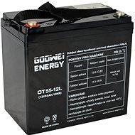 GOOWEI ENERGY OTL55-12, baterie 12V, 55Ah, DEEP CYCLE - Trakční baterie