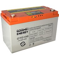 GOOWEI ENERGY OTD100-12, battery 12V, 100Ah, DEEP CYCLE - Traction battery