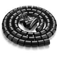 Ugreen Cable Organizer Protection Tube Black 5m - Organizér kabelů
