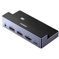 Ugreen USB-C to 2*USB3.0+ HDMI+3.5mm+PD Converter