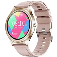 WowME Roundwatch růžové - Chytré hodinky