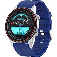 WowME Roundswitch stříbrné/modré - Chytré hodinky