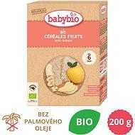 BABYBIO rýžová BIO kaše s quinoou a ovocem 200 g - Nemléčná kaše