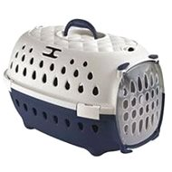 Zolux TRAVEL SMART Dog Crate, Grey/Anthracite