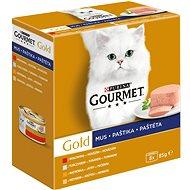 Gourmet gold (8 × 85 g) – paštiky - Příspěvěk pro útulek