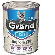 Grand deluxe 100% RYBÍ pro kočku 400 g - Příspěvěk pro útulek