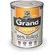Grand deluxe 100% kuřecí pro kočku 400 g - Příspěvěk pro útulek